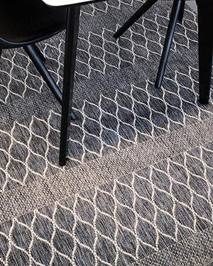 sileäpintainen harmaa matto 6826