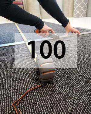 100 cm leveys